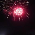 花火を見に行ってきました。